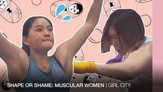 There isn't as lot of space for muscular women to freely thrive in society. In China, being strong and being feminine are usually seen as two separate things.