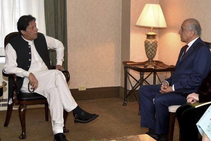 Pakistan PM meets US envoy, reaffirms support for Afghan peace | Asia News  | China Daily