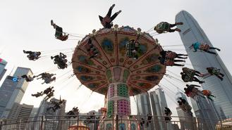 Featuring rides, games and circus, the 5th edition of AIA Carnval kicked off in Hong Kong Friday offering new entertainment, food and beverage.