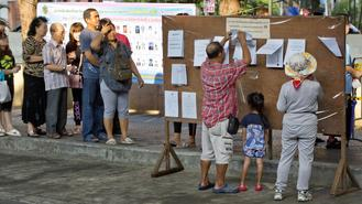 Voters in Thailand were heading to the polls Sunday in the country's first election since the military ousted an elected government in a 2014 coup.