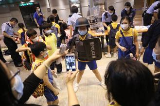 The Hong Kong Police Force held an open day Thursday to mark the sixth National Security Education Day.