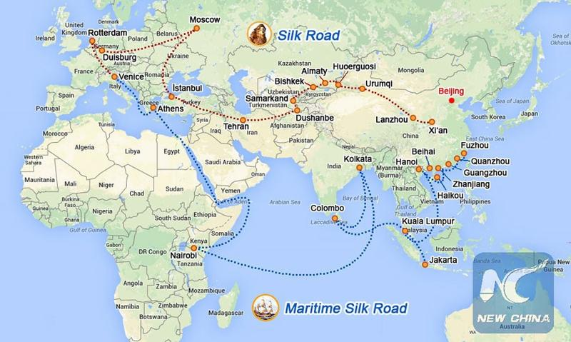 Map Of Asia 800.Belt Road Initiative Making A Difference In Asia Pacific Region