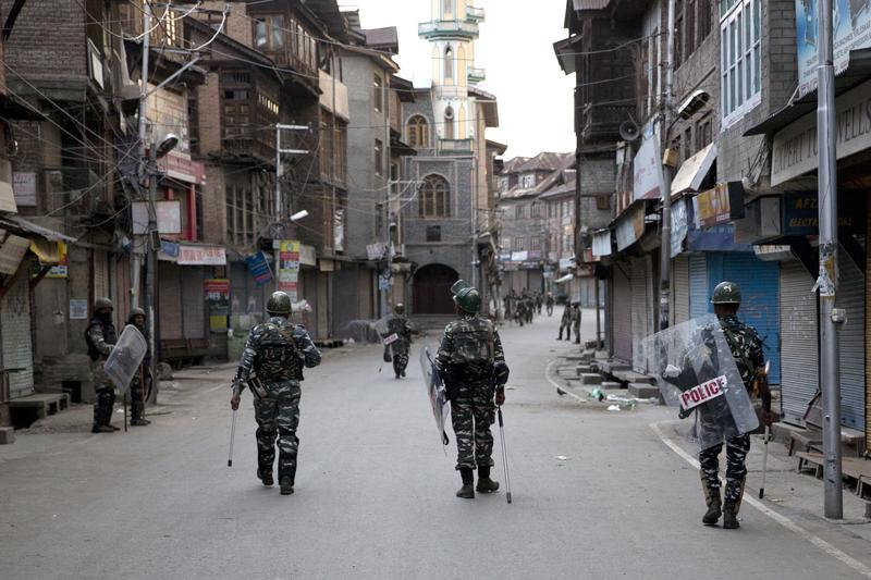 Kashmir in lockdown, but India says restrictions will ease soon