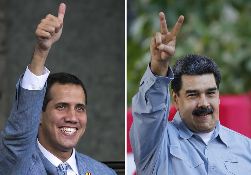 Battle of the bands: Venezuela power struggle turns to music | World