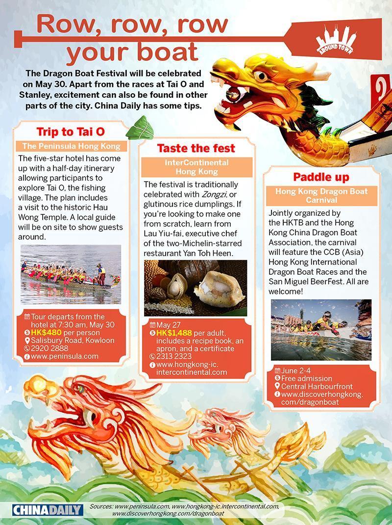 Row, row, row your boat | Offbeat HK | China Daily