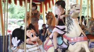The Hong Kong Disneyland reopened on Friday after the latest wave of coronavirus infections forced it to close again since mid-July.