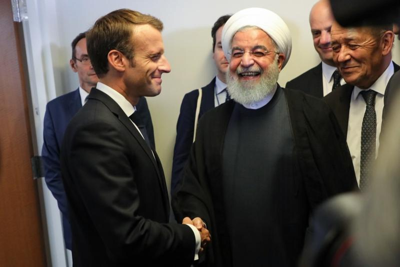 Macron Trying To Save Iran Nuclear Deal By July 15 Asia News China Daily