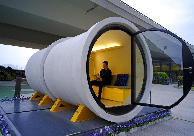 Fine Pipe Dream Hk Architect Proposes Low Cost Tube Homes Hong Beutiful Home Inspiration Truamahrainfo