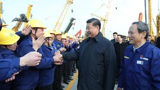 Chinese President Xi Jinping, also general secretary of the Communist Party of China (CPC) Central Committee and chairman of the Central Military Commission, had an inspection tour in Xuzhou on Dec 12.