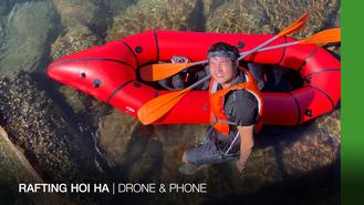 Come get on board and sail with DJ and George! In this new episode of Drone and Phone, they go rafting and snorkeling in Hoi Ha Marine Park, a protected coral area with numerous underwater wonders…maybe even dolphins?