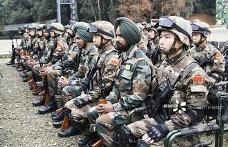 The annual exercise has been held since 2013 but was called off last year over a border military standoff in Doklam between the two countries.