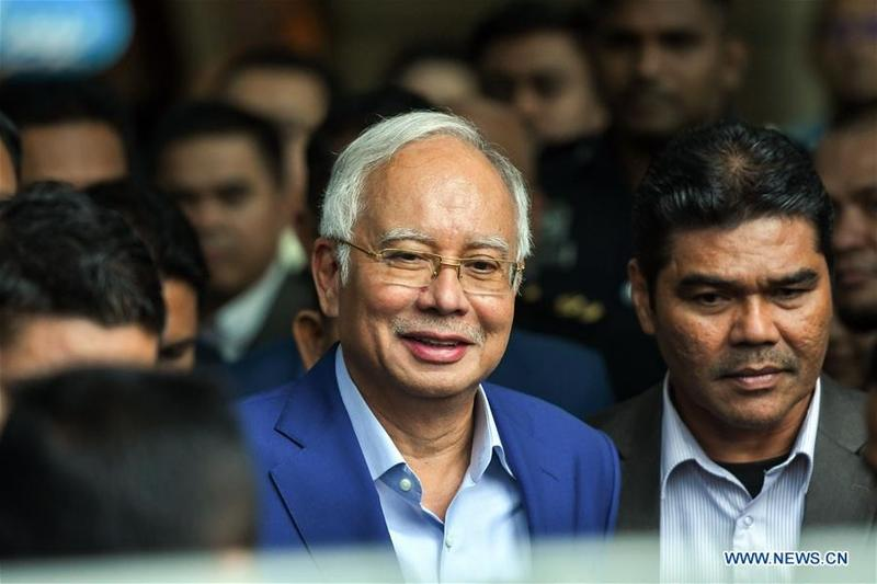 M'sia eyes multiple charges against ex-PM Najib over 1MDB