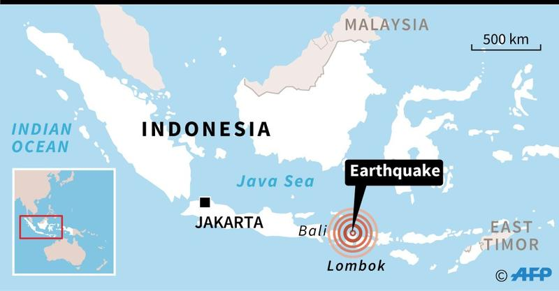 Indonesia quake: Death toll rises to 98 and thousands ...