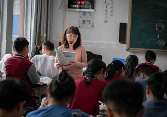 Next month, Wang Jin will end her one-year teaching stint at the Ganzi Tibetan Autonomous Prefecture High School in Kangding, Sichuan province.