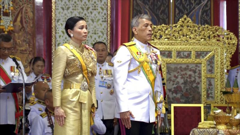 Newly crowned Thai king grants titles on 2nd day of rituals