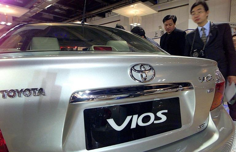 Toyota Vios sedans recalled in China over airbag problem | Business