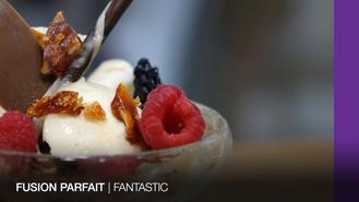 Bet you never thought of putting fermented bean curd and soy sauce in French parfait.