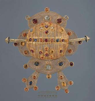 A jewelry design exhibition, to open at the National Museum of China on May 30, will show 123 ornamental pieces by Schlumberger, on loan from the Richmond-based museum.