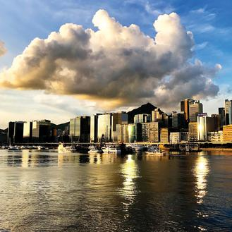 Summer is a great time to watch voluminous clouds of all types floating across the Hong Kong sky.