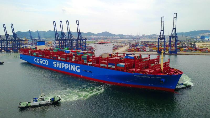 COSCO Shipping rides the BRI wave to success   Business