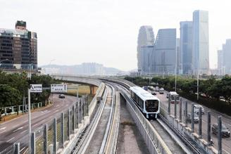 The Macao Light Rapid Transit was officially put into operation Tuesday.