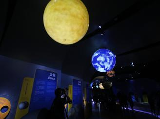 The two new permanent exhibition halls at the Hong Kong Space Museum will be open to the public form April 25, 2018.