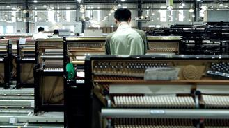 This piano company in Yichang makes more than 70,000 units a year, and has grown into a globally recognized name.