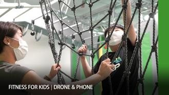 This week on Drone and Phone Lifestyle, we explore innovative training and wellness activities for kids at Hong Kong's new integrated fitness foundry AlphaStep.