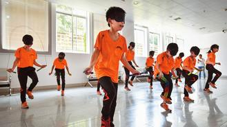 A school churning out skipping rope world champions is inspiring disabled students.