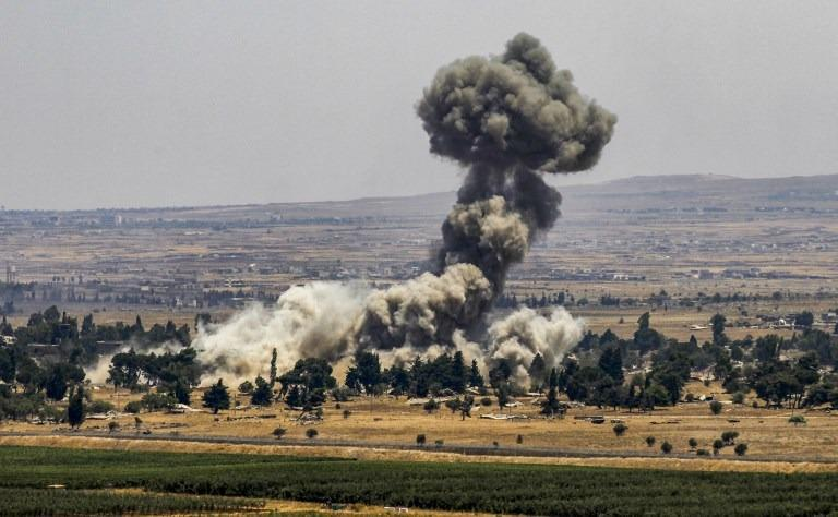 Syrian state TV: Israel struck military post in Hama
