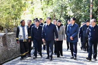 Xi Jinping, general secretary of the Communist Party of China Central Committee, visited southwest China's Yunnan province on an inspection tour ahead of Chinese New Year.