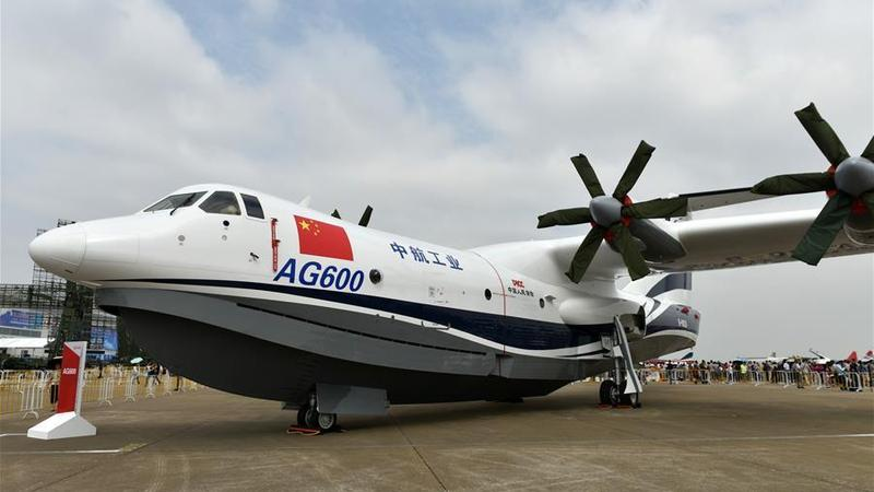 China's aircraft AG600 completes second flight | Nation | China Daily