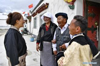 Relocation for poverty-relief purposes carried out in recent years has helped boost rural revitalization in Tibet Autonomous Region.