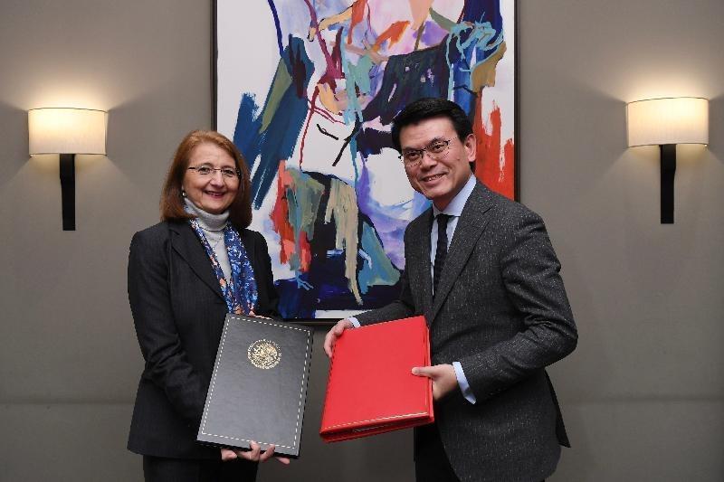 Hong Kong Mexico Sign Investment