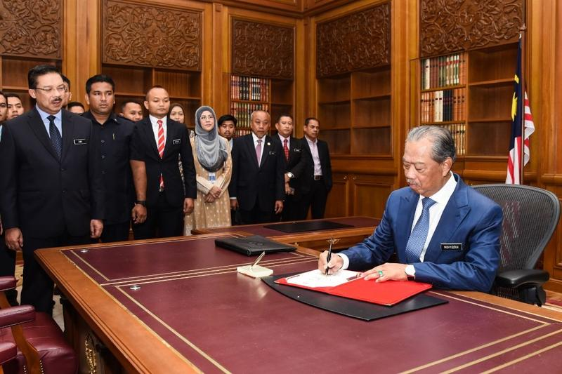 Malaysia Palace Denies Royal Coup In Appointing New Pm Asia News China Daily