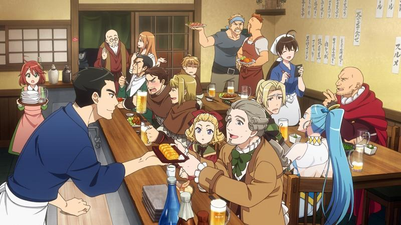 Characters From New Anime Isekai Izakaya Are Seen In The Fictional Japanese Gastropub That Story Is Based On PHOTO THE JAPAN NEWS