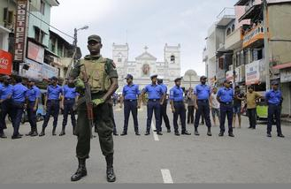 Easter Day bomb blasts at three Sri Lankan churches and three luxury hotels killed people and wounded more.