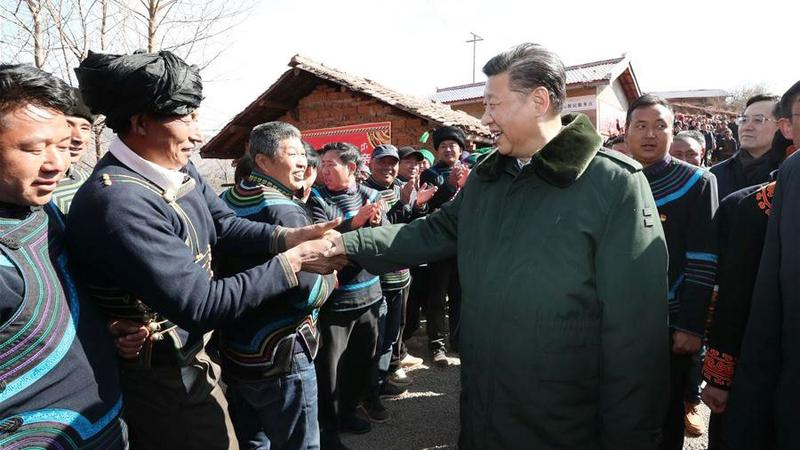 xi now is time to win poverty war nation china daily