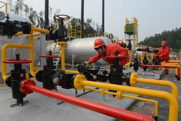 China to build shale gas facilities, issue exploration