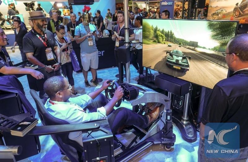 Chinese gaming firms explore opportunities at E3 Expo in US