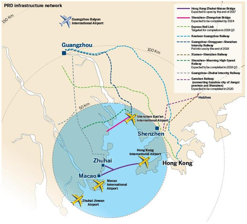 PRD aviation surges. HK suffers airspace congestion | Data | China Daily