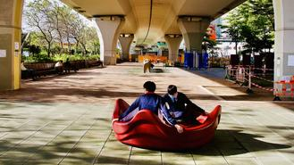 In a city notoriously lacking in habitable spaces, every inch of concreted public area has potential for public use.