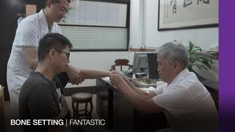 Traditional Chinese bone setters can diagnose and fix orthopaedic problems without using X-rays.