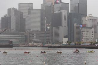 The CCB (Asia) Hong Kong International Dragon Boat Races 2018 kicked off at Central Harbourfront on June 22, 2018.