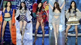 2017 Victoria's Secret Fashion Show was held at Mercedes-Benz Arena in Shanghai on Nov 20, 2017.