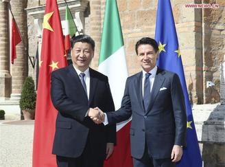 Chinese President Xi Jinping makes rounds in Europe, reinforcing friendships and witnessing economic deals.