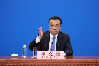 Chinese Premier Li Keqiang met the press at 4 pm Thursday after the closing of the third session of the 13th National People's Congress.