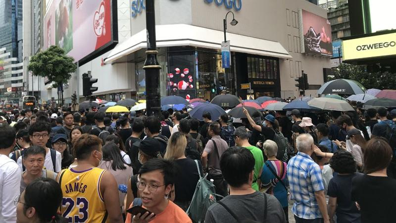 Sogo sees business battered as protests go on | Hong Kong
