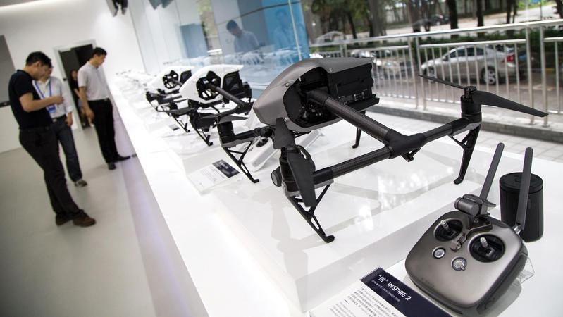 People Visit The Headquarters Of Drone Maker DJI Technology Co In Shenzhen Southern Chinas Guangdong Province On June 3 Is Worlds Biggest