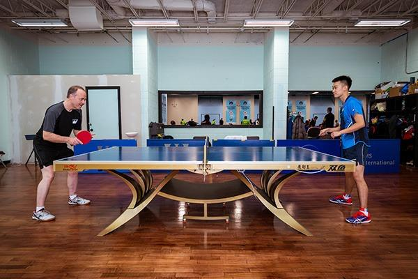 Bouncing around the globe to Ping-Pong pinnacle | Sports